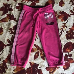 Justice cropped sweatpants